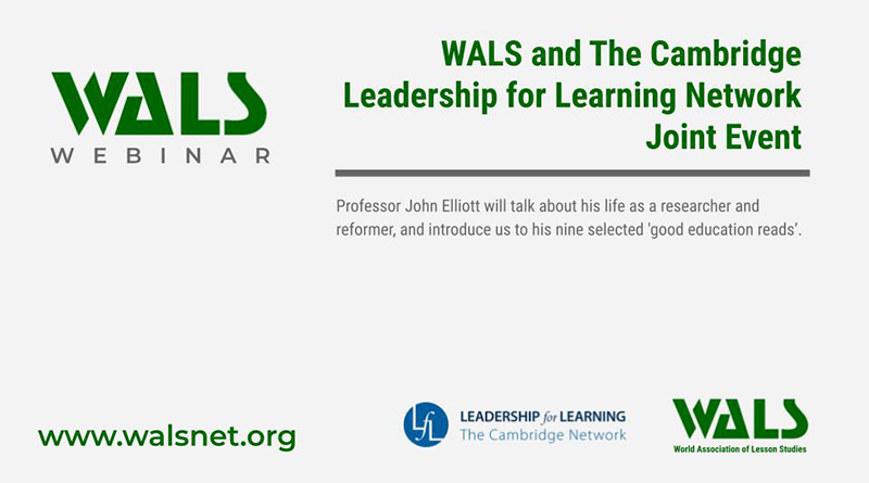 WALS and The Cambridge Leadership for Learning Network Joint Event
