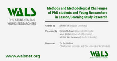 Methods and Methodological Challenges of PhD students and Young Researchers in Lesson/Learning Study Research