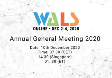 WALS Annual General Meeting 2020