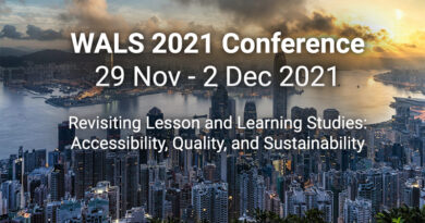 Announcement: A Change of Plan for the WALS 2021 Conference